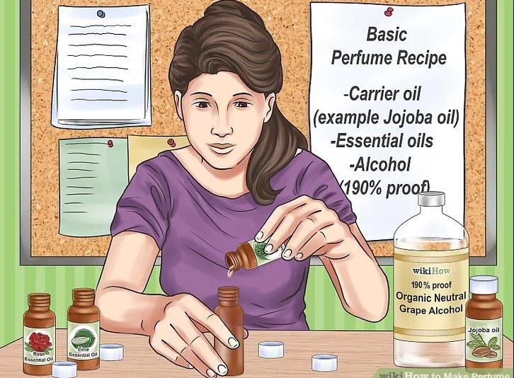 آموزش ساخت عطر-دستورالعمل پایه برای ترکیب را بدانید