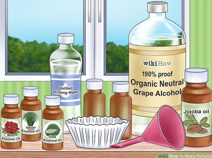 آموزش ساخت عطر-شما برای این کار، در کل به این موارد نیاز خواهید داشت