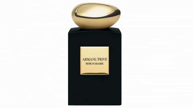 عطر لوکس مردانه برای سال 2020-عطر گل سرخ عربی از کالکشن Prive از برند جورجیو آرمانی (Armani Prive Rose d'Arabie)