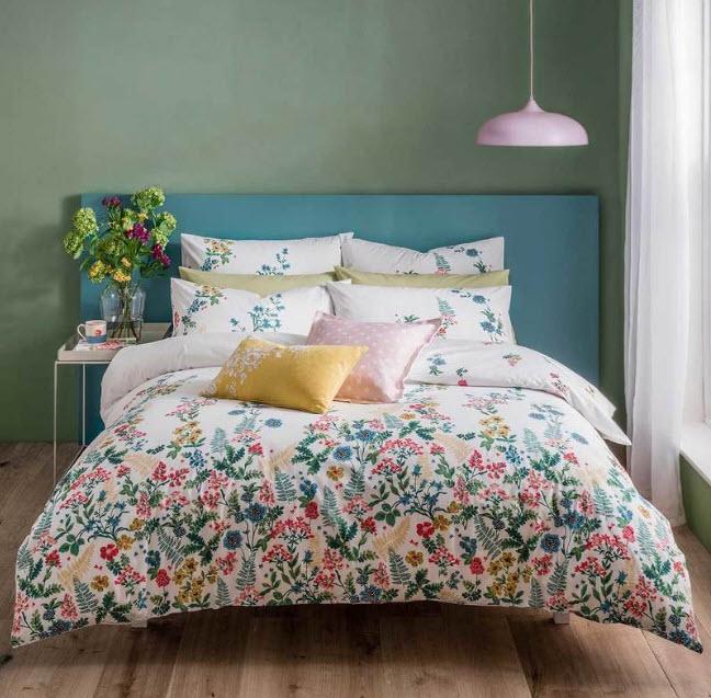 طراحی زیبای تخت خواب از برندهای کاث کیدستون و اشلی ویلد