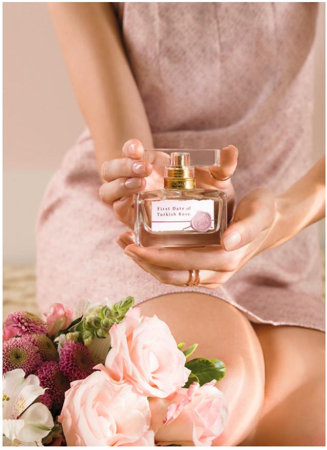 تصویری از عطر First Date of Turkish Rose عضوی از مجموعه اکسیر عشق