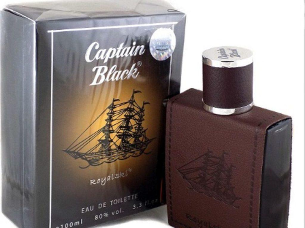 کاپیتان بلک ادکلن تلخ مردانه