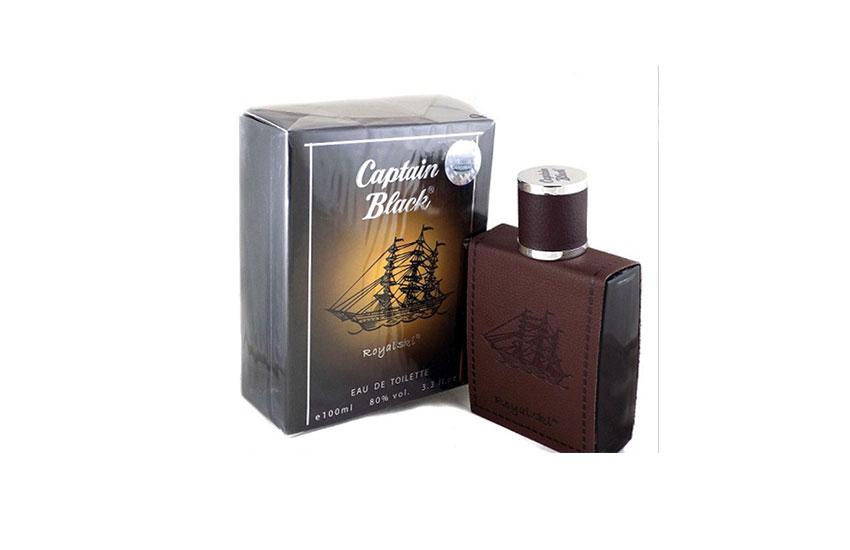 عطر مردانه با پخش بوی بالا- کاپیتان بلک